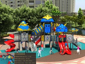 Kaiqi Medium Sized Robot Series Children′s Outdoor Playground Equipment - Customisation Available (KQ50065A) pictures & photos