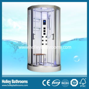 Popular Computer Display Shower Cubicle with Heating Towel Bar (SR121N)
