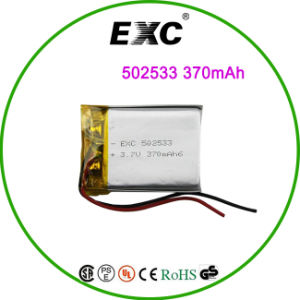 502533 3.7V 370mAh Li-Polymer Battery with Sport Bracelet pictures & photos