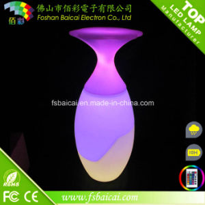 PE Plastic LED Garden Furniture Set