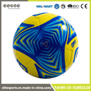 China Best Texture Design Synthetic Leather Soccer Ball China