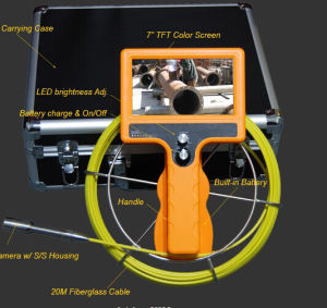 Wopson New Design Pipe Inspection Camera with Transmitter pictures & photos