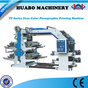 Ruian High Speed 4 Colour Flexo Printing Machine pictures & photos