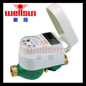Wireless Remote Valve Water Meter for Cold Water pictures & photos
