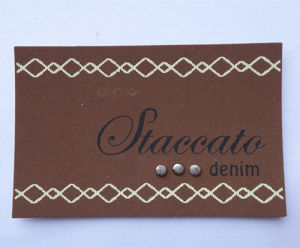 Modern Design Customized Size and Color Sewing Label for Denim