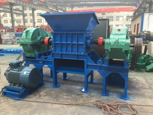 Plastic Recycling Machine, Double Shaft Shredder Machine pictures & photos