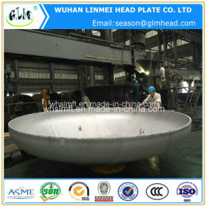 2: 1 Semi Ellipsoidal Head Stainless Steel 316/316L Pipe Caps pictures & photos