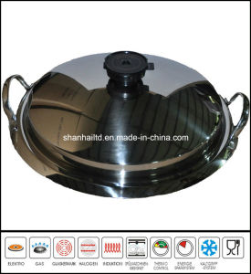 Stainless Steel Griddle Pan Pizza Pan pictures & photos