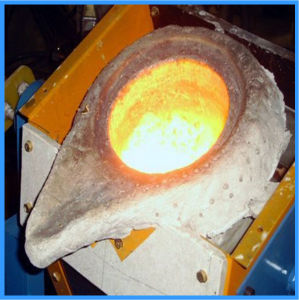 Factory Price Tilting Aluminum 6kg Induction Melting Furnace (JLZ-25) pictures & photos