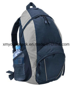 Custom Navy Blue Outdoor Hiking Backpack Bag pictures & photos