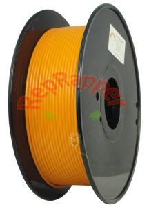 Well Coiled ABS 3.0mm Orange 3D Printing Filament
