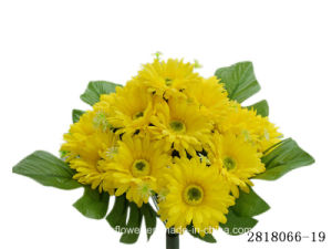Artificial/Plastic/Silk Flower Gerbera Bush (2818066-19) pictures & photos