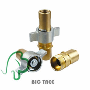 Kzd Brass Hydraulic Quick Coupler Quick Connect Coupling pictures & photos