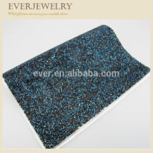 Wholesale Peridot Point Back Hotfix Crystal Rhinestone Mesh pictures & photos