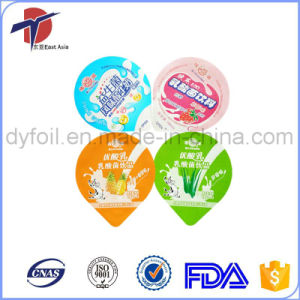 PE Laminated Aluminum Foil Lid For Plastic Cup Sealing pictures & photos