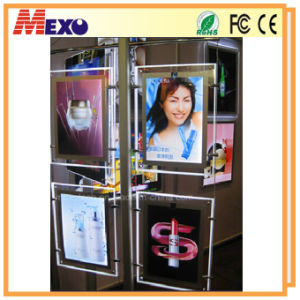 Product Exhibition Acrylic LED Slim Light Box (CDH01-A3P-02) pictures & photos