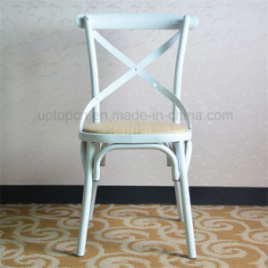 french bistro chairs metal. Classic French Bistro Metal Cross Back Chair (SP-MC059) Chairs