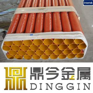 Epoxy Coated Cast Iron Pipe with Its Approval pictures & photos