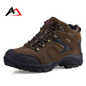 Trekking Shoes Outdoor Sports Non-Slip for Men Hiking (AK8916) pictures & photos