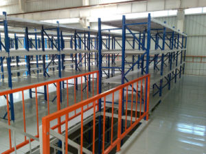 Metal Mezzanine Racking with Double Storage Capacity