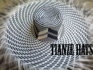Big Waves Two Tone Paper Straw Hat Body pictures & photos