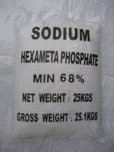 68% Industrial/Food Grade Sodium Hexametaphosphate (SHMP) pictures & photos