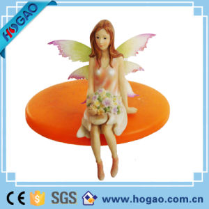 Fantasy Collectible Decor Butterfly Flower Tooth Fairy Figurine pictures & photos