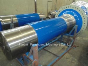 Open Die Forging Steel Wind Turbine Main Shaft pictures & photos