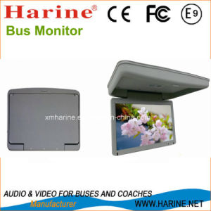 15.6 Inch Manual Flip Color TV Car LCD pictures & photos