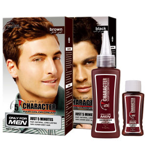 Character for Man Use Hair Color Cream Hair Cover 100% Cover pictures & photos