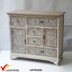 Different Drawer Size Console Hand Carved Wooden Furniture pictures & photos
