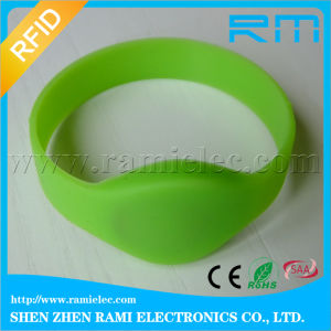 RFID Silicone Wristband with DESFire 2/4/8leve 2k/4k/8k Chip