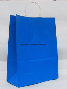 Customized Luxury Kraft Paper Bag Raw Materials of Paper Bag