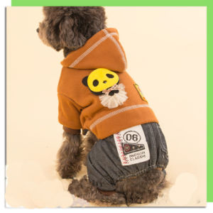 Cool Classic Dog Hoodie Jumpsuit Pet Shirt with Trousers pictures & photos