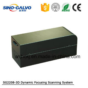 3D Dynamic Metal Laser Marking Machine with Galvo Head Sg2208-3D