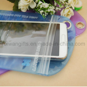 Pudding Waterproof Pouch for Phone, Phone Waterproof Bag with Logo Printing pictures & photos