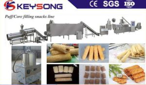 High Capacity Puff Corn Core Filling Snack Food Making Machine pictures & photos