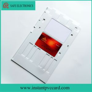 White Inkjet PVC Card Tray for Epson R380 Printer pictures & photos