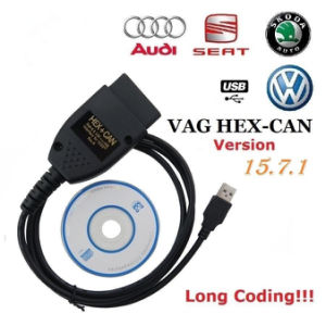 VAG C-O-M 157 15 7 Hex Can USB Interface VW/Audi/Seat/Skoda
