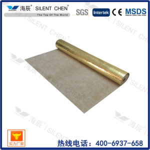 Factory Supply Nature Rubber Underlay with Aluminum Foil