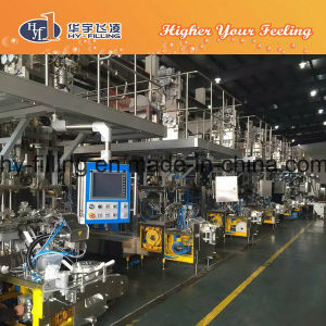 New 250ml Aseptic Mango Juice Filling Machine /Carton Box Filling Packing Machine pictures & photos