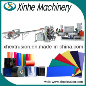 PP, PE, PS, Pet, ABS, PVC Plastic Board/Plate Extruder Production Line