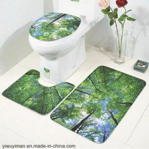 Bath Mats Three Piece Bathroom Set