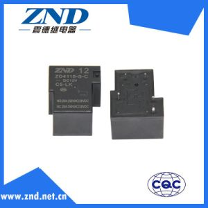 Zd4115 (T90) 5pins Miniature Electromagmetic Sensitive Power Relay for Industries
