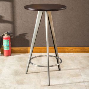 (SP-BT704) Bar Bistro Furniture Round Wooden Top Cocktail Table pictures & photos