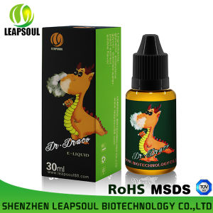 RoHS/TUV/MSDS 30ml Plastic Bottle E-Liquid Fruit E Liquid
