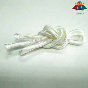 High Quality High Strength 5mm White Nylon / Polyester / PP Braided Rope / Cord