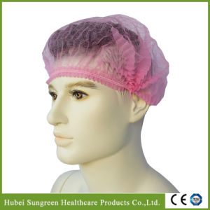 Disposable Non-Woven Mob Cap, Clip Cap pictures & photos