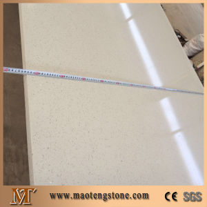 Wholesale White Color Sparcle Artificial Stone Quartz Slab