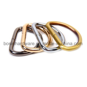 Plated Metal Welded Steel Dee Rings